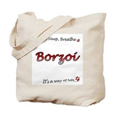 Borzoi Breathe Tote Bag