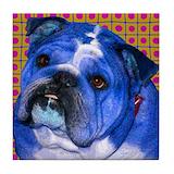 Bulldog Drink Coasters
