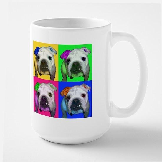 Pop Bulldog Large Mug