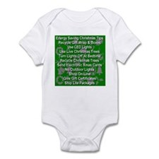 Energy Saving Christmas Tips Infant Bodysuit