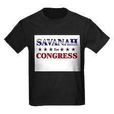 SAVANAH for congress T