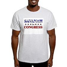 SAVANAH for congress T-Shirt