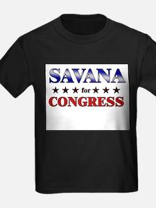 SAVANA for congress T