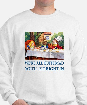 WE'RE ALL QUITE MAD Sweater