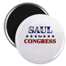 """SAUL for congress 2.25"""" Magnet (10 pack)"""