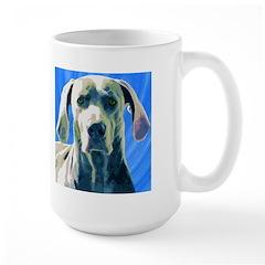 Whimsical Weimaraner Large Mug