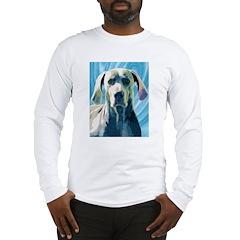 Whimsical Weimaraner Long Sleeve T-Shirt
