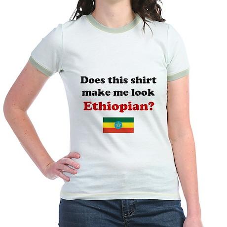 Make Me Look Ethiopian Jr. Ringer T-Shirt