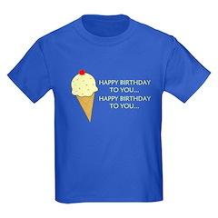 HAPPY BIRTHDAY (ICE CREAM) T