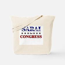 SARAI for congress Tote Bag