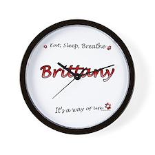 Brittany Breathe Wall Clock