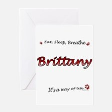 Brittany Breathe Greeting Card