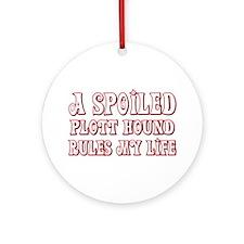 Spoiled Plott Ornament (Round)