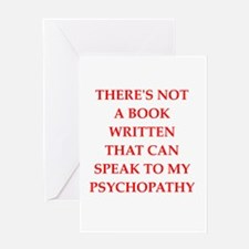psycho Greeting Cards