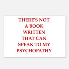 psycho Postcards (Package of 8)