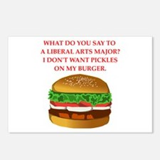 liberal arts Postcards (Package of 8)