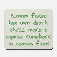 Flower - Mousepad