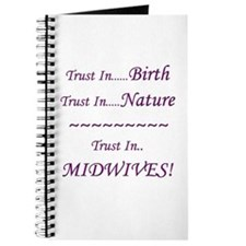 Midwife Advocacy Blank Journal
