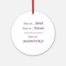 Midwife Advocacy Ornament Keepsake