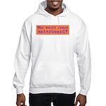 Who Would Jesus Waterboard? Hooded Sweatshirt