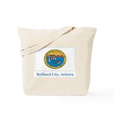 Bullhead City AZ Flag Tote Bag