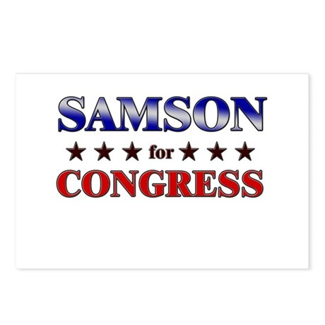 SAMSON for congress Postcards (Package of 8)