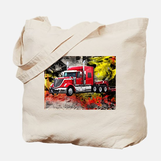 Big Truck - Red and Chrome Tote Bag
