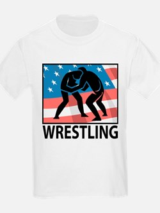Wrestling In America T-Shirt