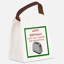 birthday Canvas Lunch Bag