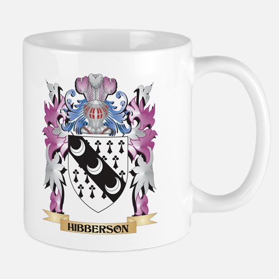 Hibberson Coat of Arms (Family Crest) Mugs