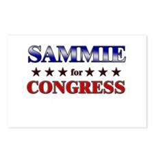 SAMMIE for congress Postcards (Package of 8)