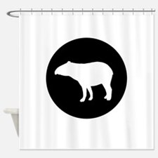Tapir Shower Curtain