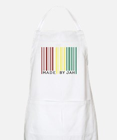 made by jah BBQ Apron