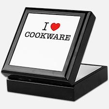 I Love COOKWARE Keepsake Box