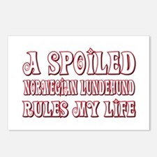 Spoiled Lundehund Postcards (Package of 8)