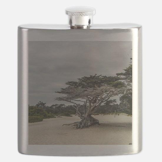Carmel Beach Landscape Flask