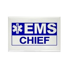 EMS Chief Rectangle Magnet