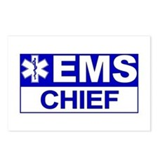 EMS Chief Postcards (Package of 8)