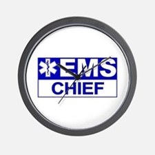 EMS Chief Wall Clock