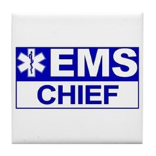 EMS Chief Tile Coaster