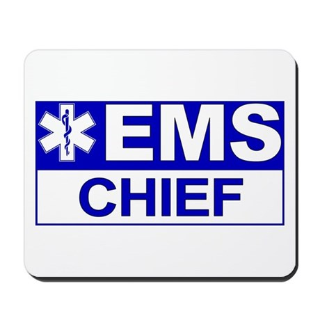 EMS Chief Mousepad