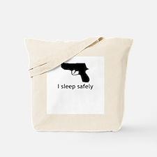 I Sleep Safely Tote Bag