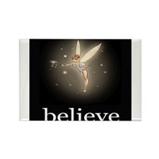 """Believe"" Rectangle Magnet"