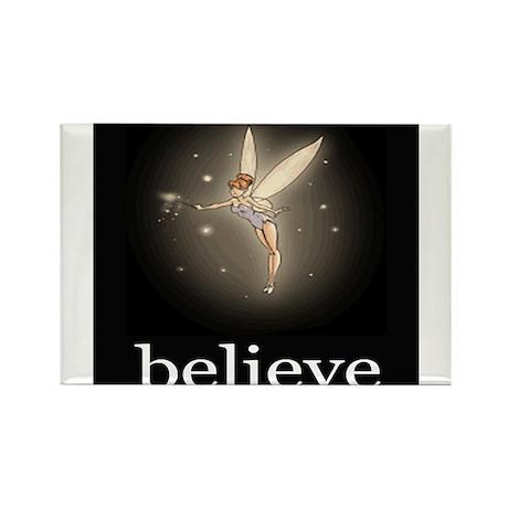 """Believe"" Rectangle Magnet"