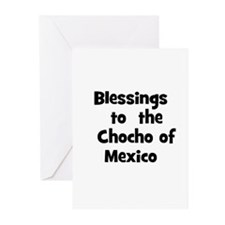 Blessings  to  the  Chocho of Greeting Cards (Pk o