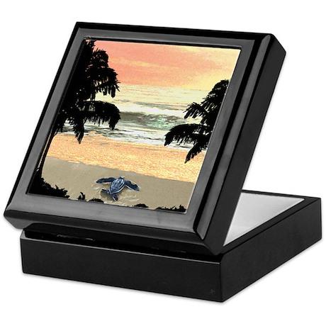 Tropical Turtleart Keepsake Box