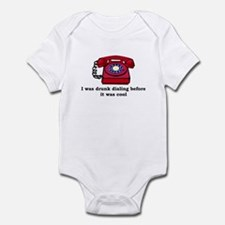 Drunk dialing before it was s Infant Bodysuit
