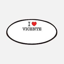 I Love VICENTE Patch