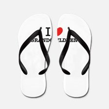 I Love GRANDCHILDREN Flip Flops