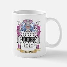 Higgins Coat of Arms (Family Crest) Mugs